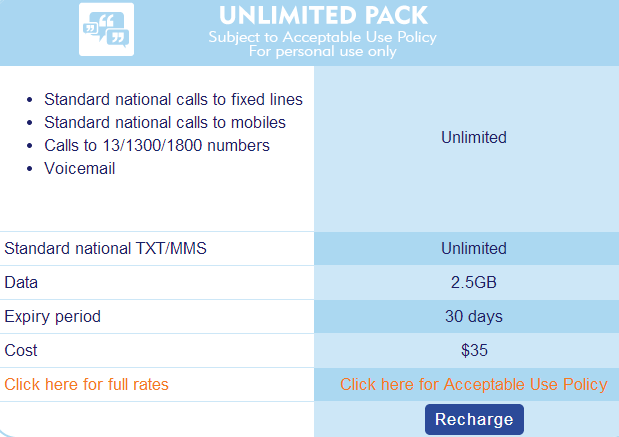 Updated: Aldi Mobile slashes data on Unlimited Pack to 2.5 GB