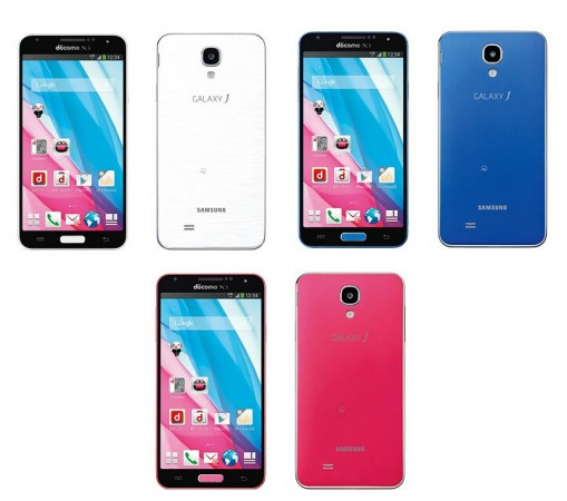 Samsung Galaxy J announced for NTT DoCoMo in Japan