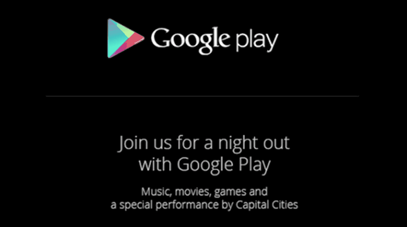Google is holding a Google Play Event in NY – what is it for?