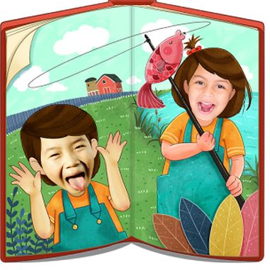New App 'Me In a Storybook' puts your child into the story