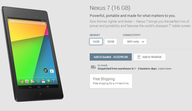 Google Play Store now has a cleaner look when purchasing a Nexus 7
