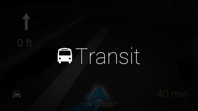 Google Glass XE10 update adds transit directions