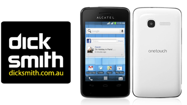 Dick Smith offering the Alcatel OneTouch Pixi for $99