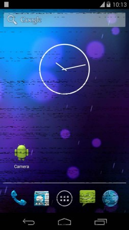 GNex AOSP ROM with Graphics Glitches
