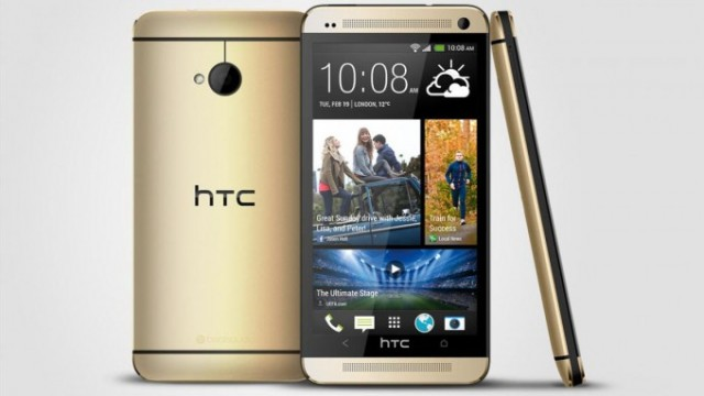 Champagne Gold HTC One coming exclusively to Telstra