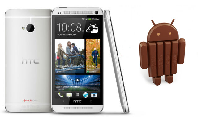 Android 4.4 rolling out to European HTC One handsets now