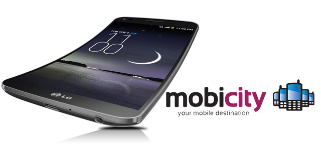Get flexible with the LG G Flex 4G LTE now available to pre-order from Mobicity