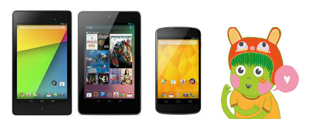 Paranoid Android release pure AOSP ROMs for the Wi-Fi Nexus 7 (2012) and (2013) as well as Nexus 4