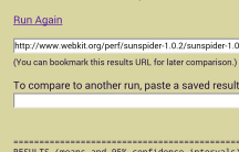 Sunspider 1.0.2 - Nexus 5