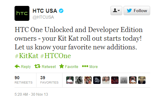 Twitter   HTCUSA  HTC One Unlocked and Developer ...