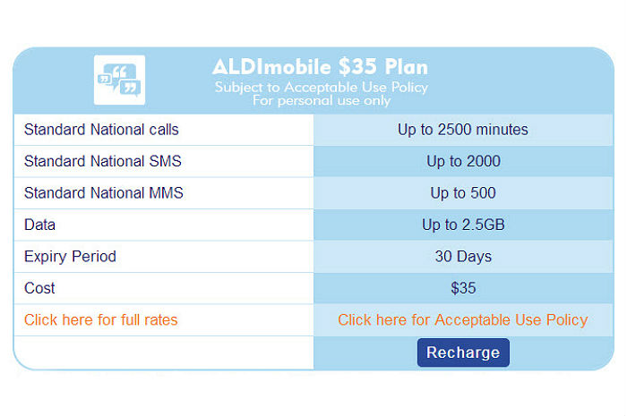 ALDI Mobile isn't unlimited anymore; now measured in minutes
