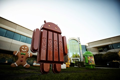 Android-KitKat-Statue