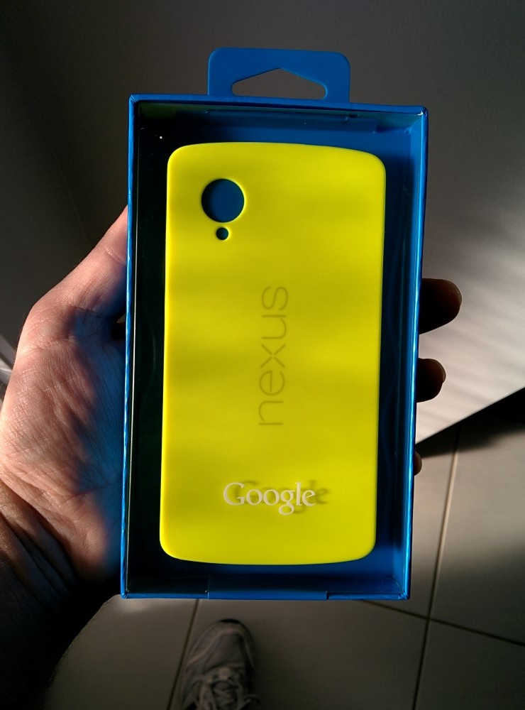 range of Google Nexus 5 by Nexus 5 Bumper Case Yellow