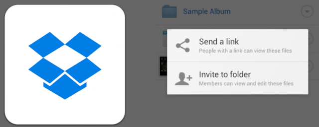 Dropbox updated to include invites to shared folders and in-app purchases