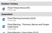 Specific warnings  current