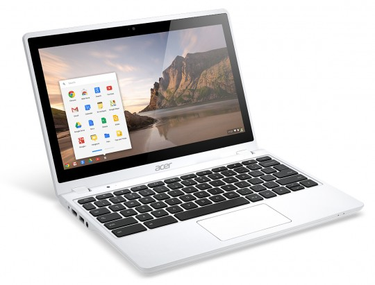 Acer's C720P touchscreen Chromebook is now available in 'Moonstone White'