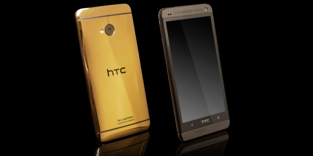 Telstra is giving away a 24-karat HTC One
