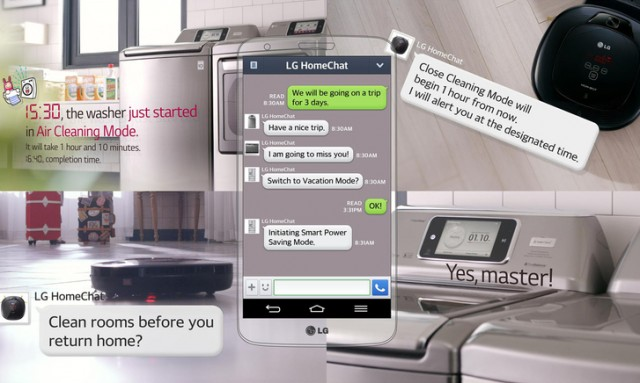 LG launch HomeChat for users to communicate with their Home Appliances