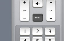 One place where some skeuomorphism is welcome is in LG's Quick Remote software.