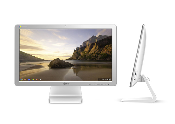 CES 2014 — LG announces the Chrome OS Desktop – Chromebase – coming to the US this Spring