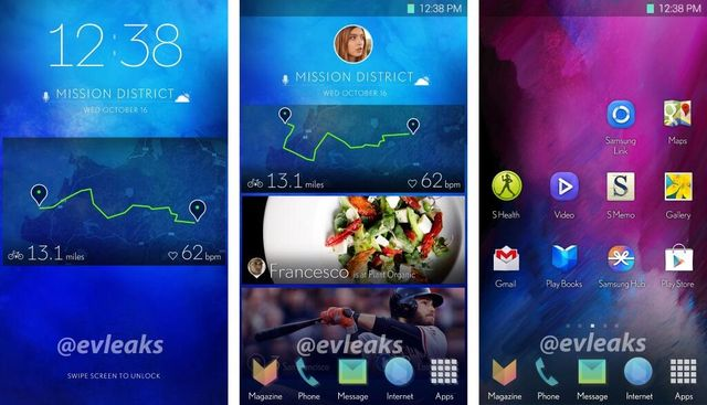Leaked screenshots suggest Samsung might be changing TouchWiz