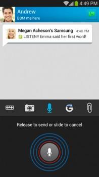 BBM Pics, Voice Notes & attachments screenshot