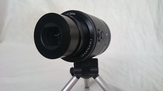Sony QX100 Lens-style Camera — First Impressions