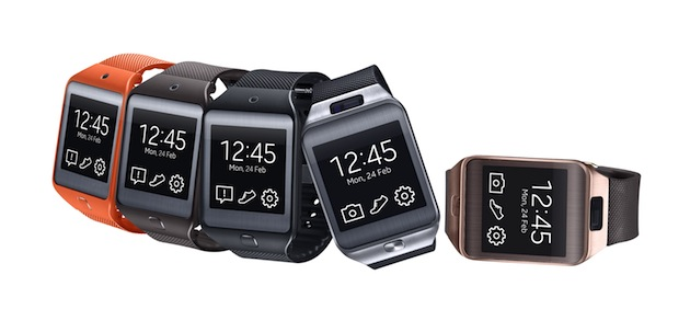 [MWC 2014] Samsung announces Gear 2 and Gear 2 Neo smartwatches running Tizen OS