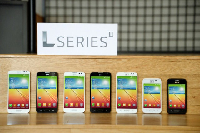 LG announces three L Series III phones ahead of Mobile World Congress