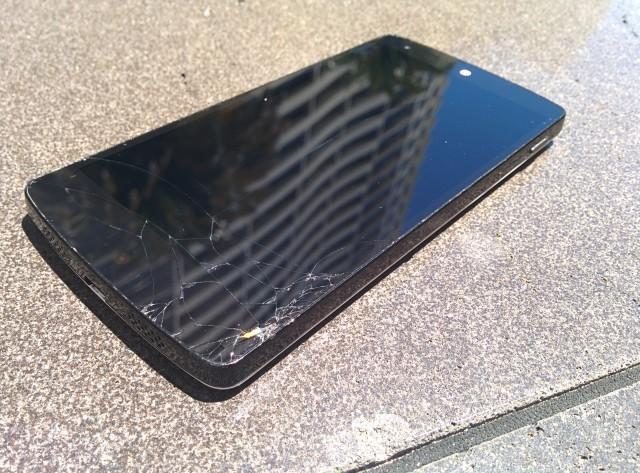Nexus 5 Smashed Screen