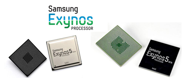 Samsung launches the Exynos 5422 and 5260 mobile processors and 16/13MP sensors