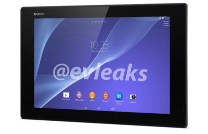 Xperia Tablet Z2 appears in render form and more rumoured specs