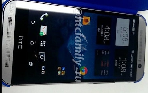 HTC M8 shows up in the wild this time from the front