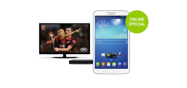 Foxtel offers free Galaxy Tab 3 8.0 to new subscribers
