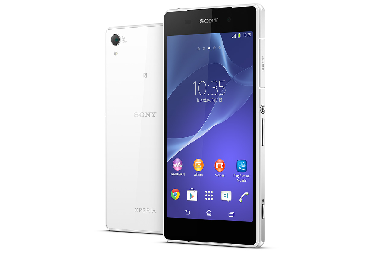 [MWC 2014] Sony unveil their new Xperia Z2 flagship