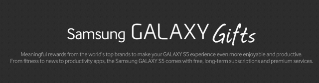 Samsung Galaxy S5 will come with up to $500 worth of free 'gifts'