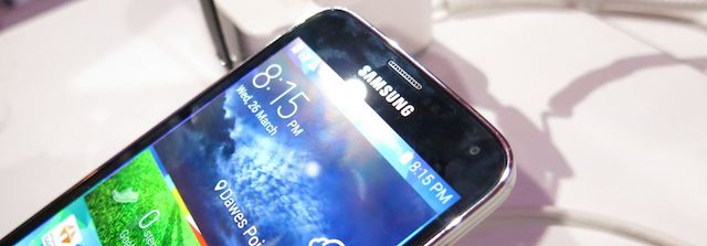 Vodafone has the Samsung Galaxy S5 in selected stores