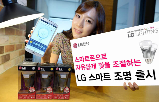 LG announces 'Smart' LED Bulbs controllable with Android and iOS devices