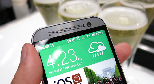 HTC One (M8) – Australian launch and hands-on