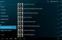 Archos Video Player - list