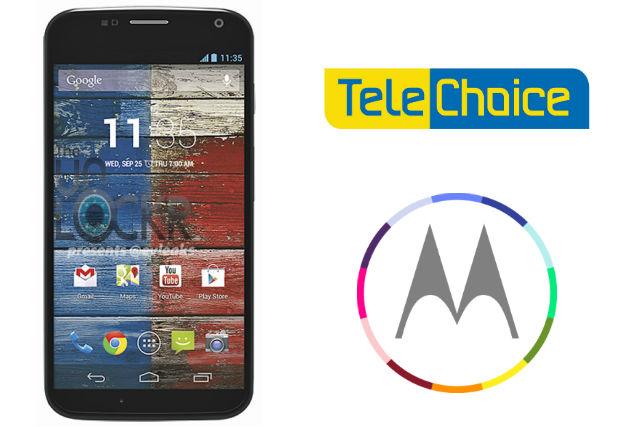 Motorola Moto X coming to Telechoice in Black or White for $599