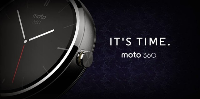 Motorola shows off the Moto 360 at Google I/O