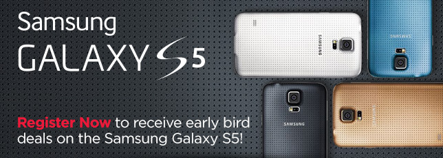 No pricing yet, but Kogan is now taking names for Samsung Galaxy S5 deals