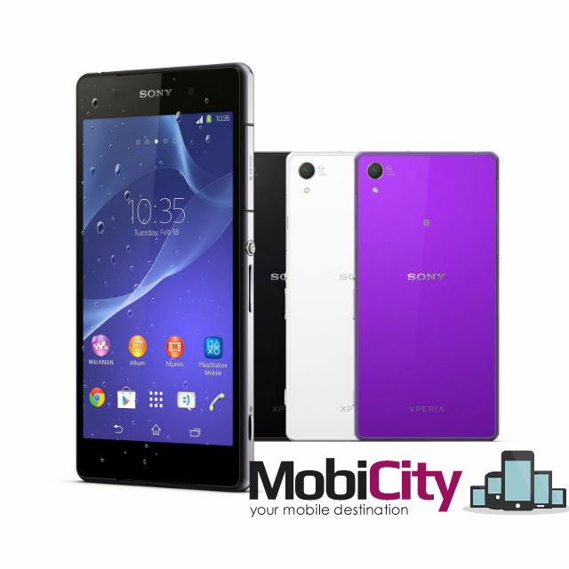 Xperia Z2 going head to head on price with the Galaxy S5 at Mobicity – now available to pre-order
