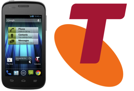 Telstra offers up the Easy Smart Pre-Paid phone for $99