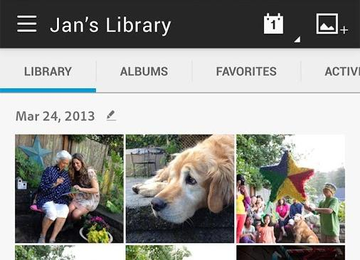 Adobe Revel is a photo sharing app with a difference