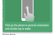 Double Tap to wake