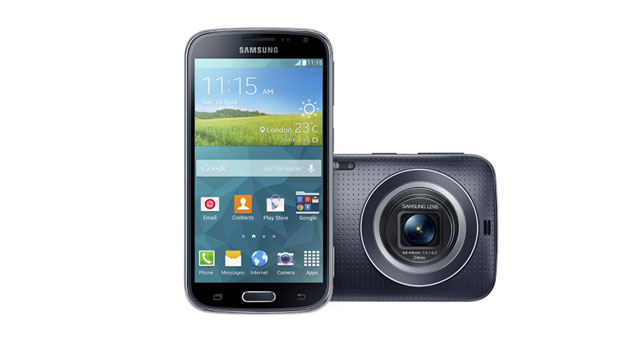 Samsung launches the Galaxy K Zoom, its latest smartphone/camera hybrid