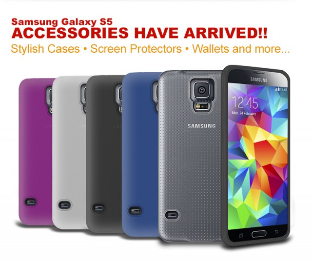 Gadgets 4 Geeks launch their range of Galaxy S5  accessories