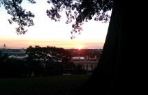 Sunset at Observatory Hill
